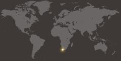 Amwe mapa anasolola  África do Sul