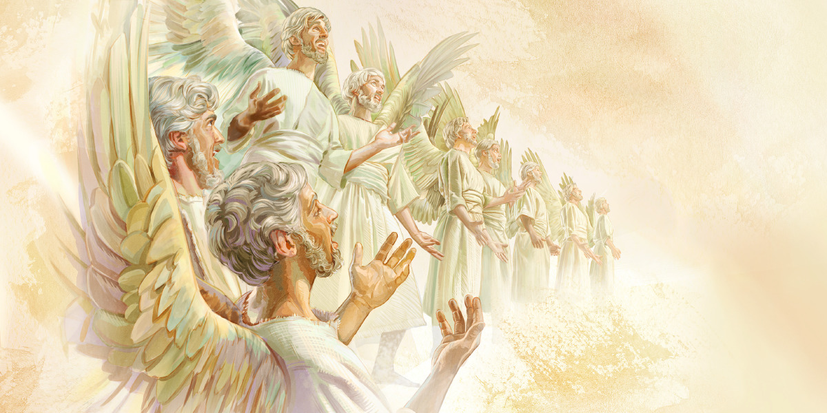 who or what are angels bible questions