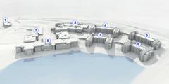 3-D-Modell der neuen Weltzentrale von Jehovas Zeugen in Warwick