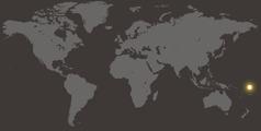 Tuvalu maailmankartalla