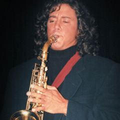 A young Stéphane Wallace Turcotte plays the saxophone