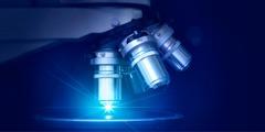 一个显微镜