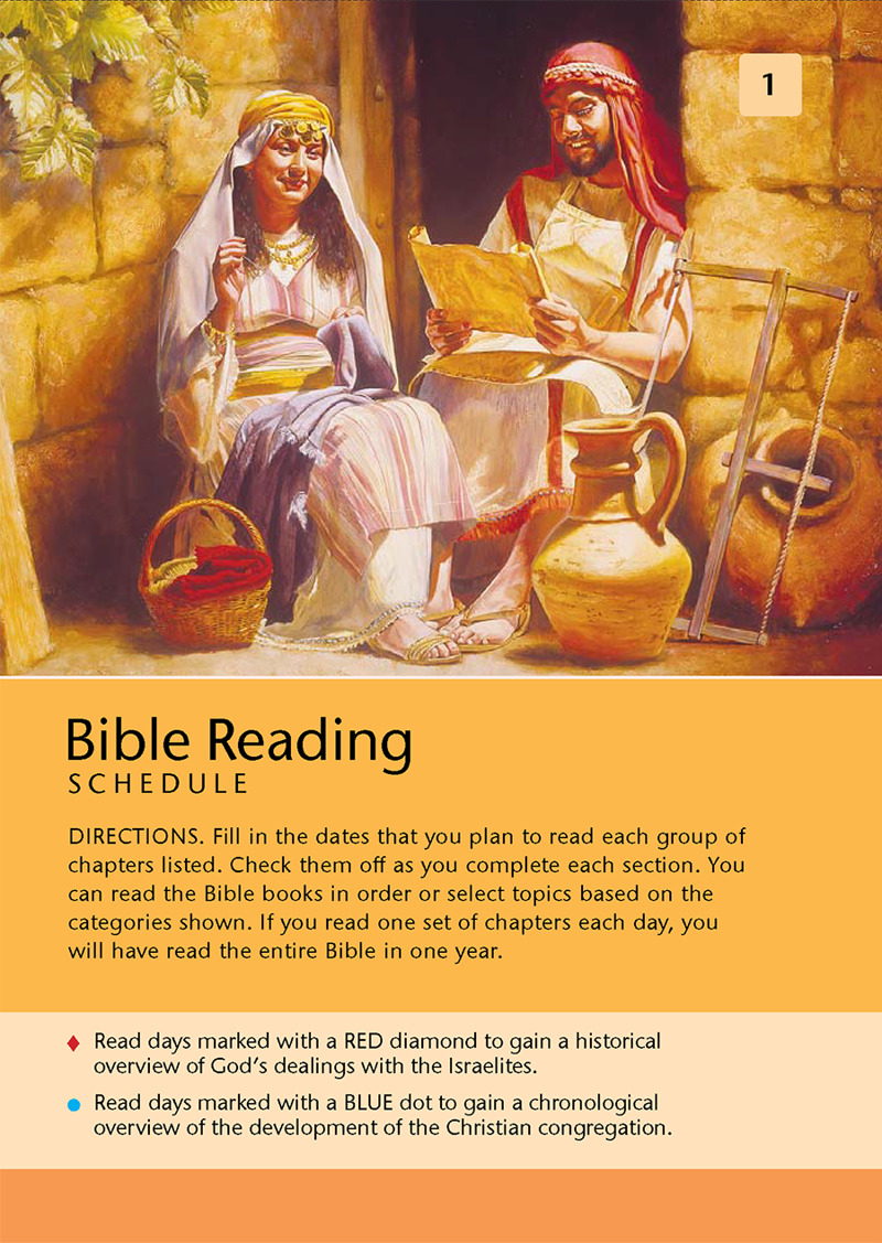 Bible-Reading Plan: Read Bible Books in Chronological Order