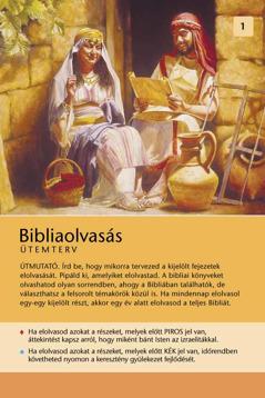 Bibliaolvasás – Ütemterv
