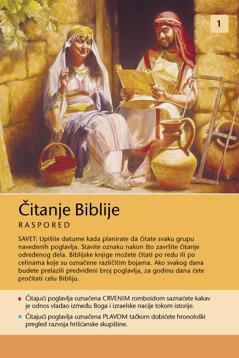 Raspored za čitanje Biblije
