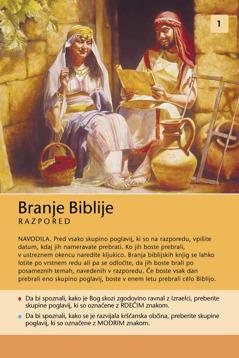 Razpored branja Biblije