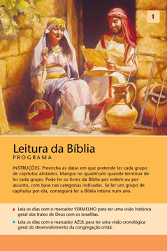 Programa de leitura da Bíblia