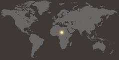 દુનિયાના નકશામાં ચાડ