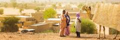 Martori ai lui Iehova predicând în Niger