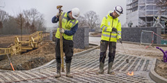 21.december 2017 – gradbišče za nove podružnične prostore
