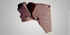 """Inscripție descoperită la Tel Dan, în nordul Israelului, care face referire la """"casa lui David"""""""