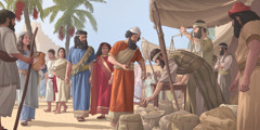 Exiled Jews conduct business in Babylon