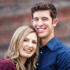 Jessena con su esposo, Hayden