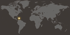 Mapa ya ipapanengneng toy lokasyon na Dominican Republic