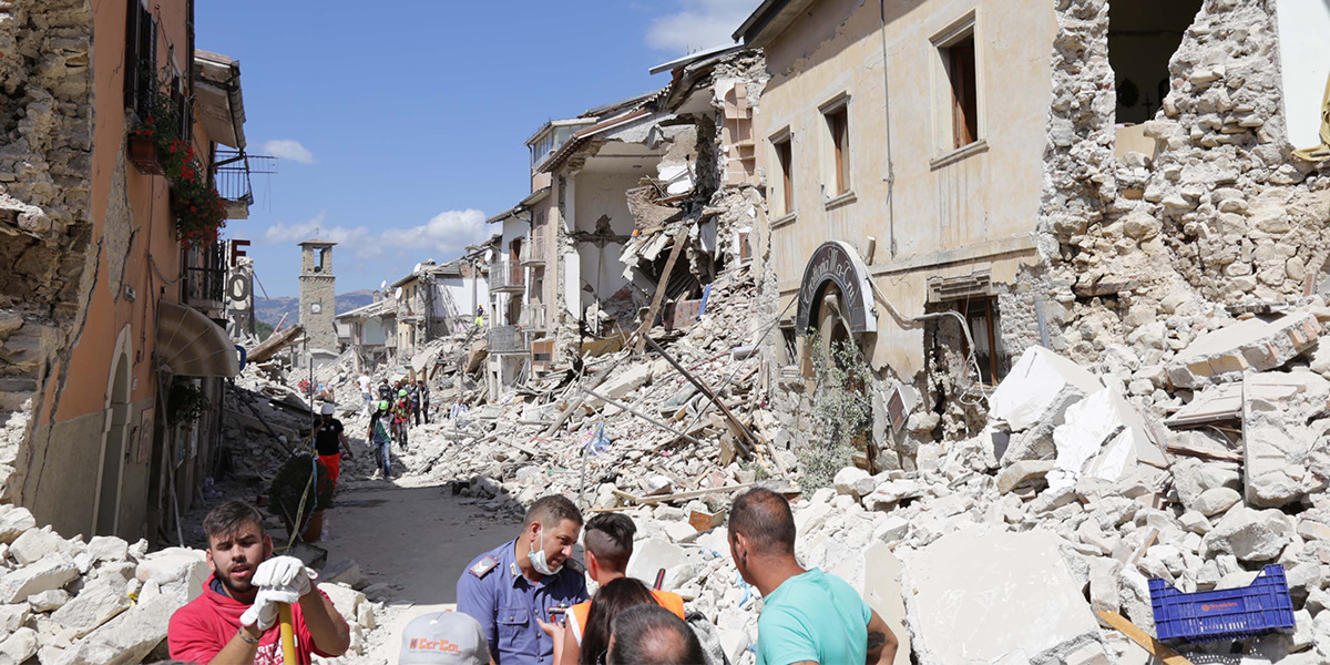 In Aftermath of Italy Earthquake, Jehovah's Witnesses Offer