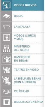 Videos nuevos en lenguaje de señas