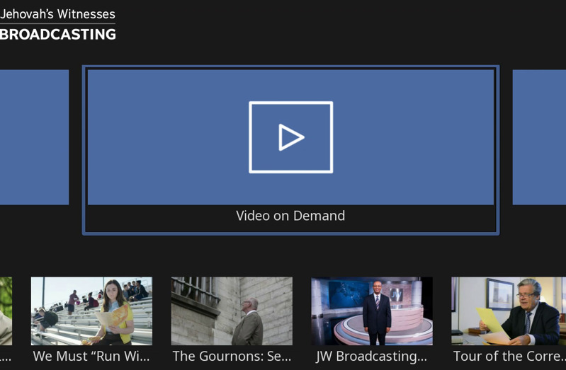 Watch JW Broadcasting Video on Demand on Roku | Features and