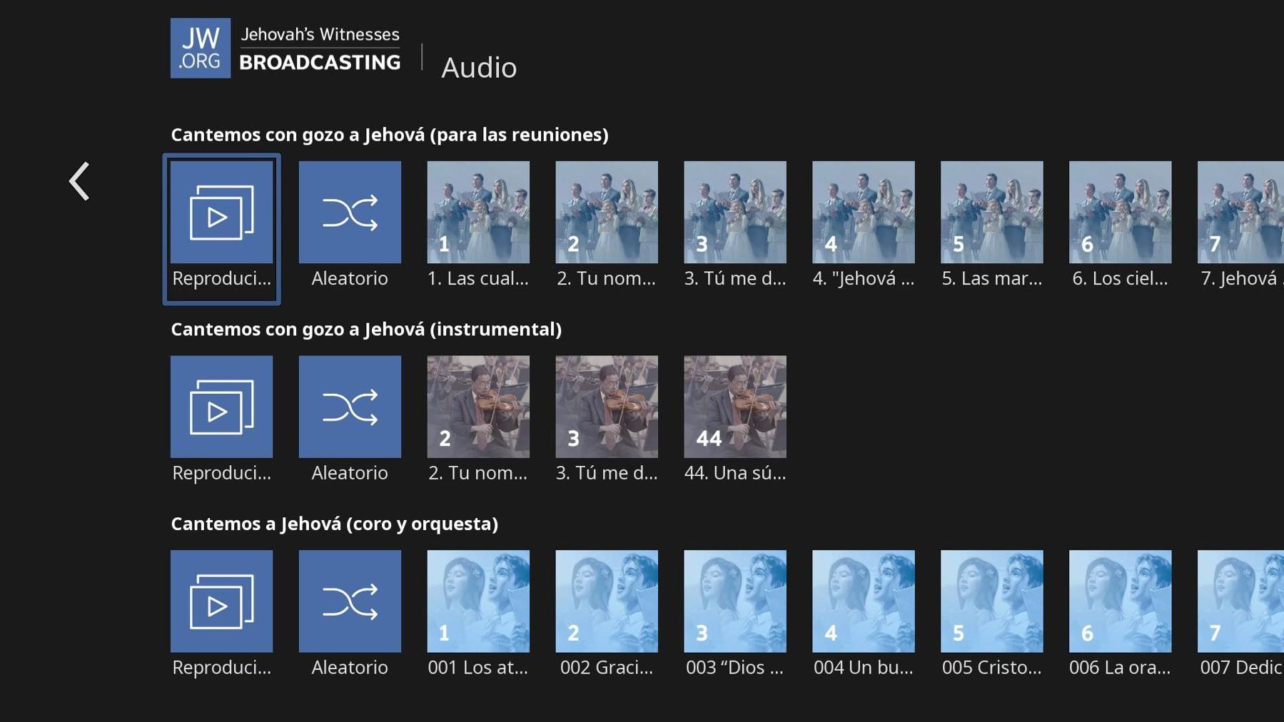Cómo escuchar archivos de audio de JW Broadcasting en Roku   Ayuda ...