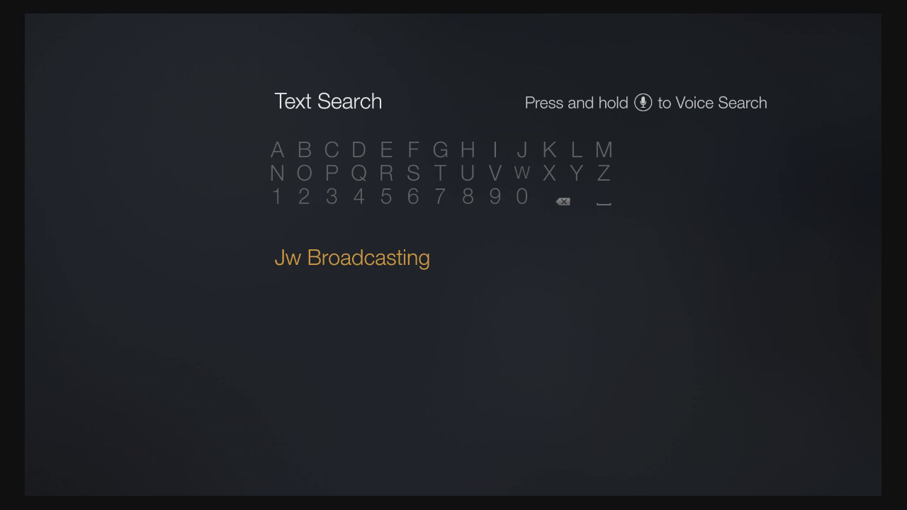 Install the JW Broadcasting App on Amazon Fire TV | Features