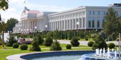 Senate building in Tashkent