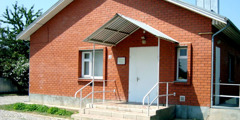იეჰოვას მოწმეების სამეფო დარბაზი ქალაქ აბინსკში